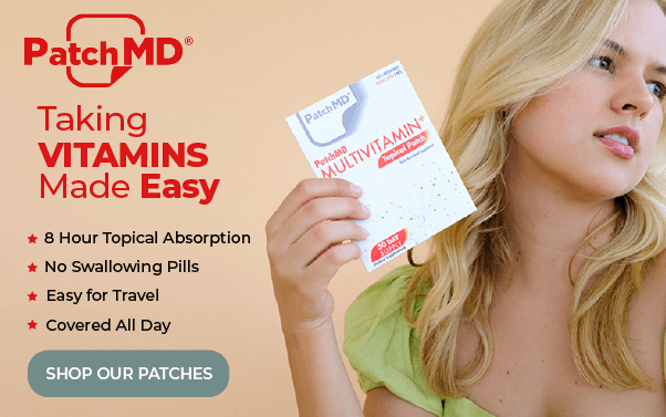Taking Vitamin Made Easy PatchMD
